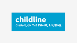 Childline online safety logo