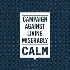 Campaign Against Living Miserably Logo