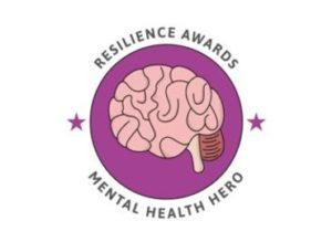 mental health hero badge